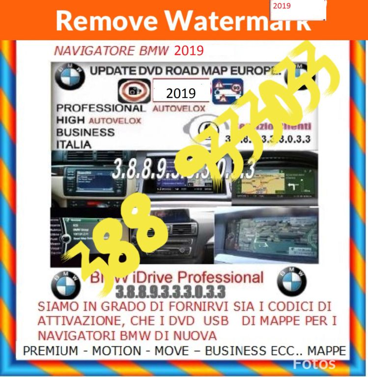 3799458  CD DVD USB BMW 2019