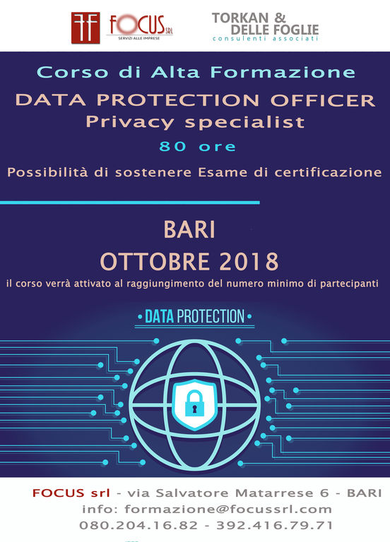 3774799  corsoData Protection Officer -