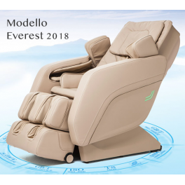 3750525  Poltrona massaggio Everest Zero