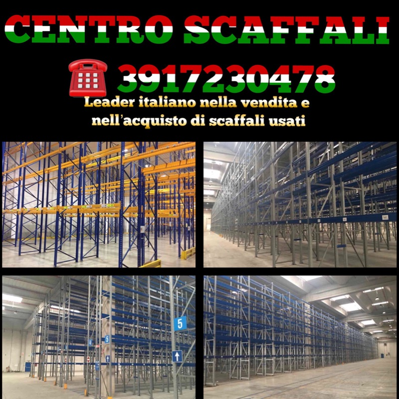 3739881  scaffalature industriali