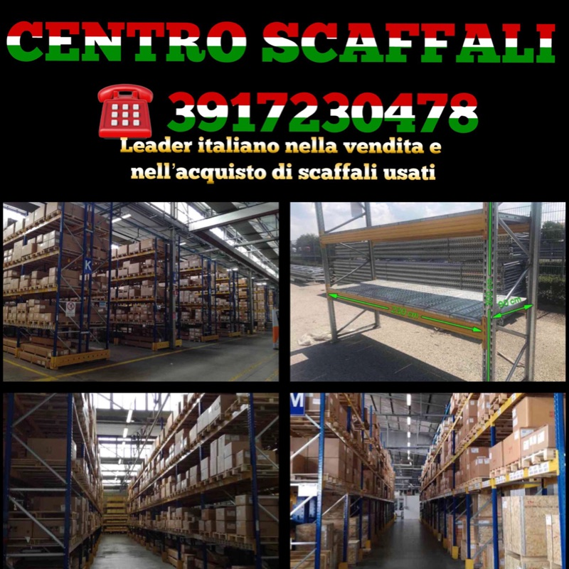 3739884  scaffalature industriali