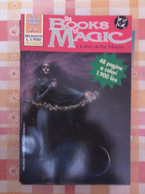 3739961  The book of magic n. 4